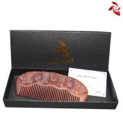 Xuanli® Redwood Comb Hair Care Anti Static Wooden Hair Massage Natural Brush Beard Comb