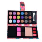 Yoyorule 26Colors Eye Shadow Makeup Cosmetic Eyeshadow Blush Lip Gloss Powder