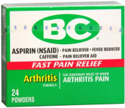 BC Arthritis Formula Pain Reliever Powders 24 Each