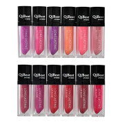 12 Colours Non-stick Cup Lip Gloss Long Lasting Waterproof Lipstick Set