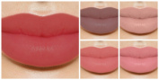 Lip Gloss Lipstick Makeup Palette With Mirror Set of 5 Colours