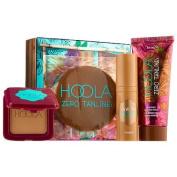 Benefit Cosmetics GET YOUR HOOLA ON Deluxe Sample Set - HOOLA Bronzer, DEW THE HOOLA and HOOLA Zero Tanlines