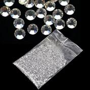 20000Pcs 1.5mm 3D Round Rhinestone Acrylic Nail Art Glitter Crystal Deco HOT