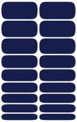 Wrap-em Nails Navy Blue Vinyl Nail Wraps