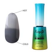 FairyGlo Long Lasting Temperature Colour Changing Gel Nail Polish UV LED Chameleon Lacquer Soak Off Pro Manicure Art Kit Decor Set Perfect Summer 12ml 5039