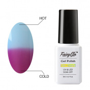 FairyGlo Chameleon Gel Nail Polish Soak Off UV LED Temperature Colour Changing Magic Pro Manicure Pedicure Salon Summer Decor 8ml 5703