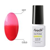 FairyGlo Chameleon Gel Nail Polish Soak Off UV LED Temperature Colour Changing Magic Pro Manicure Pedicure Salon Summer Decor 8ml 5003