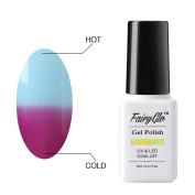 FairyGlo Chameleon Gel Nail Polish Soak Off UV LED Temperature Colour Changing Magic Pro Manicure Pedicure Salon Summer Decor 8ml 5721