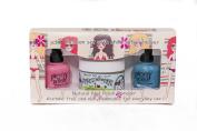 Piggy Polish Nail Polish Fashion Kit, Blue and Pink plus New Remoooover
