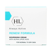 HOLY LAND Always Active Renew Formula Nourishing Cream with Alpha Lipoic Acid 50ml/1.7oz Normal to Dry Skin.