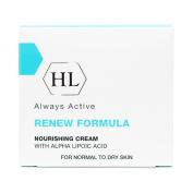 HOLY LAND Always Active Renew Formula Nourishing Cream with Alpha Lipoic Acid 50ml/1.7oz Normal to Dry Skin.
