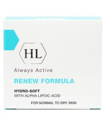 HOLY LAND Always Active Renew Formula Hydro - Soft with Alpha Lipoic Acid 50ml / 1.7oz Normal to Dry Skin.
