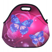 Neoprene Lunch Tote, OFEILY Insulated Lunch Bag with animal printed