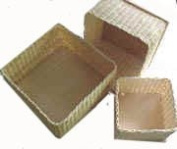 Nested Set of 3 Wicker Boxes Weaving Kit