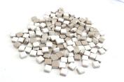 Milltown Merchants 4/10 Inch (10 mm) Ceramic Mini Mosaic Tile, 0.5kg (470ml Bag)