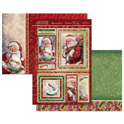Hunkydory Crafts Christmas Classics - Santa Clause is Coming to Town Topper Set