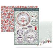 Hunkydory Crafts Festive Elegance - Christmas Cottage Topper Set