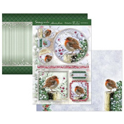 Hunkydory Crafts Snowy Season Robin Redbreast Topper Set