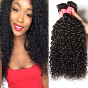 Beauty Forever Hair Brazilian Virgin Hair Curly Weave 3-pack/lot Bundles 100% Unprocessed Human Hair Extensions Nature Colour (100+/-5g)/ Pc