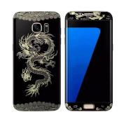 Samsung Galaxy S7 Edge Case,AutumnFall® Dragon Full Body Decal Protector Films for Samsung Galaxy S7 Edge