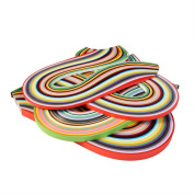 Outus 26 Colours 1040 Strips Paper Quilling Sets, 3/ 5/ 7/ 10 mm, 4 Sets