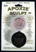 Aves Apoxie Sculpt Pink 2-Part Self-Hardening Modelling Compound 0.1kg