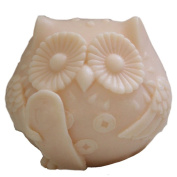 Grainrain Silicone Soap moulds Small Bird White DIY Craft Art Handmade Cold Process Soap Making Mould.
