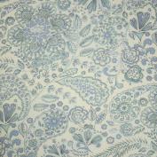 Free Spirit Leanika Paisley Blue Fabric
