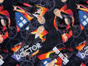 Dr, Who I Am the Doctor Cotton Quilt Fabric