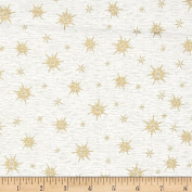 Holiday Blooms Christmas Cotton Quilt Fabric Stars