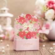 Wishmade Elegant Laser Cut Favour Box DIY Wedding Candy Box Gift box CB6008 Match Invitation Card CW6008
