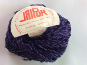 Jaipur #12 - Purple Twist & Slub Yarn 50 Gramme