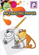 Tracing Paper Pad, Multi-Colour, A4