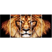 Digital Art PT2437-401 Hear Him Roar Animal Canvas Art