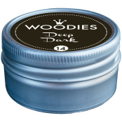 Woodies Dye-Based Ink Tin-Deep Dark
