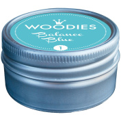 Woodies Dye-Based Ink Tin-Balance Blue