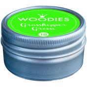 Woodies Dye-Based Ink Tin-Grasshopper Green