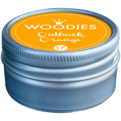 Woodies Dye-Based Ink Tin-Outback Orange