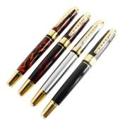 RIUDA 4pcs Luxury Jinhao 250 Calligraphy Fountain Pen Golden Clip Art Pen in 4 Colours