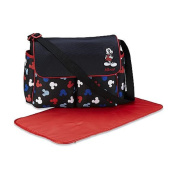 Disney Baby Mickey Mouse 3 Piece Infant Nappy Bag Set, Silhouettes