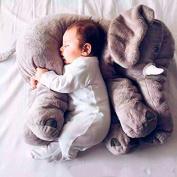 Super Soft Cute Big Stuffed Elephant Plush Doll Pillows, Baby Elephants Toys