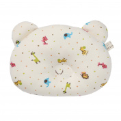 WithOrganic Baby Pillow, Newborn Infant Prevent Flat Head, 25cm X 20cm Mini Joojoo