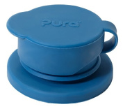 Pura Sport Big Mouth Silicone Sport Top, Steel Blue