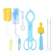 Zerlar 7 in 1 Bottle Brush Cleaner Kits for Baby Bottles Nipples Straws Cups