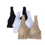 TOOPOOT 3PC Pregnant Women Bra Underwear Maternity Breastfeeding Nursing Feeding Bra