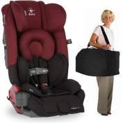 Diono Radian RXT Car Seat With Carrying Bag Black Scarlet