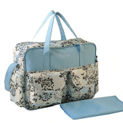 WINOMO Baby Nappy Bag Waterproof Nappy Bag with Nappy Changing Pad