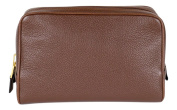 Tom Ford Born Pebbled Leather Toiletry/Travel Zippered Bag Case