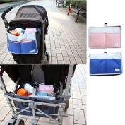 Gouptec Travel large capacity Baby Nappy Nappy Organiser Stuffs Insert Storage Bag Changing Organizer0