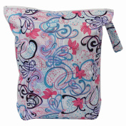 Asenappy leakproof washable wet bags for cloth nappy covers